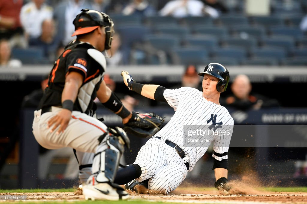 Baltimore Orioles v New York Yankees - Game Two : News Photo