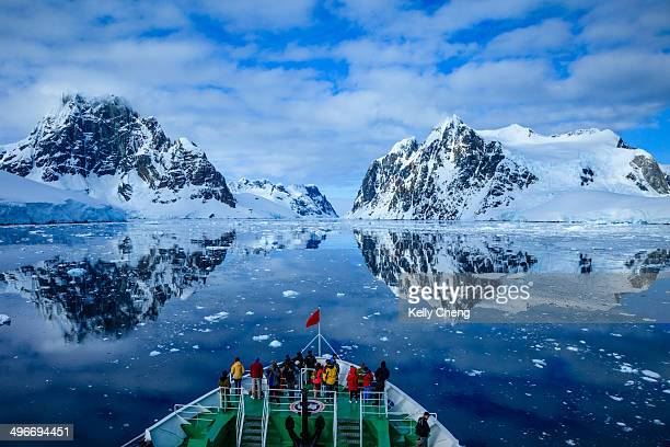 Lemaire Channel, a strait off Antarctica, located between Kiev Peninsula in the mainland's Graham Land and Booth Island. It is one of the top tourist...