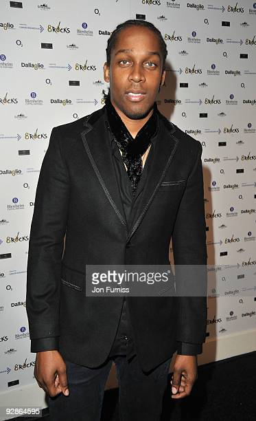 Lemar attends charity auction 8Rocks in aid of Cancer Research hosted by the Dallaglio Foundation at Battersea Evolution on November 6 2009 in London...