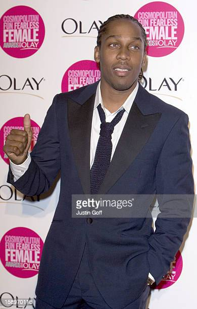 Lemar Attends The Cosmopolitan Fun Fearless Female Awards With Olay At London'S Bloomsbury Ballroom