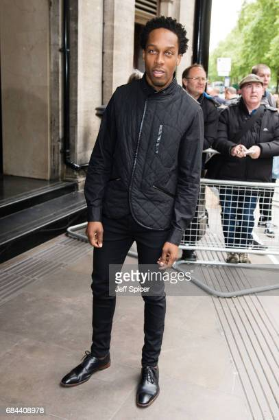 Lemar attends the Ivor Novello Awards at Grosvenor House on May 18 2017 in London England