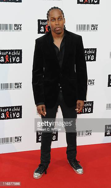Lemar attends the Keep A Child Alive Ball at The Roundhouse on June 15 2011 in London England