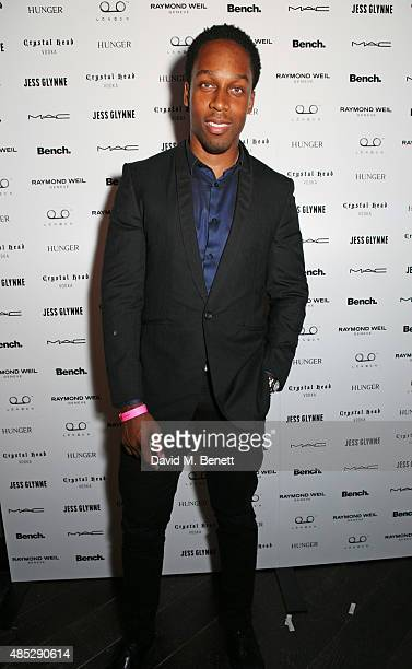 Lemar attends the launch of Jess Glynne's new album 'I Cry When I Laugh' in partnership with Crystal Head Vodka at Tape London on August 26 2015 in...