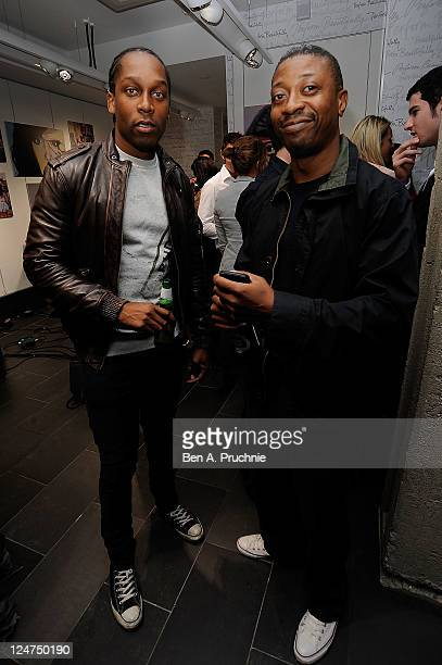 Lemar attends the launch of Kate Voegeles 'Signature Series Sunglasses Beckon' at the Oakley Store on September 12 2011 in London England