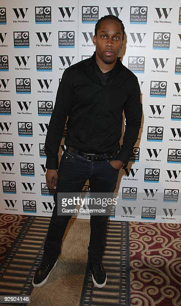 Lemar attends the MTV Staying Alive Foundation launch party for Travis McCoy's documentary 'The Unbeaten Track' and single 'One At A Time' at...