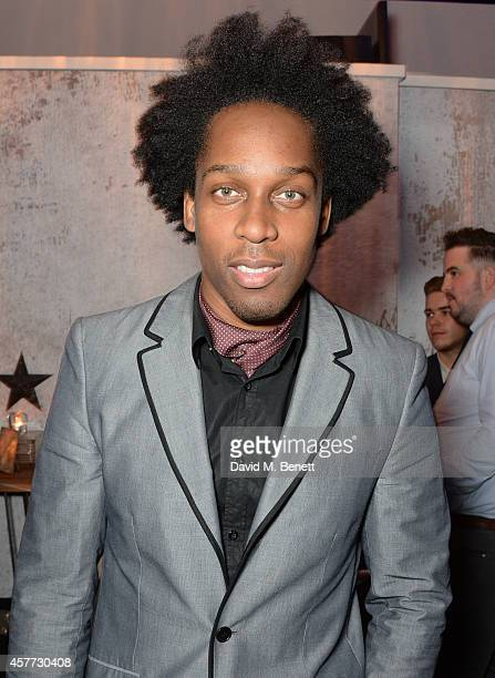 Lemar attends the press night performance of 'Memphis The Musical' at The Floridita on October 23 2014 in London England