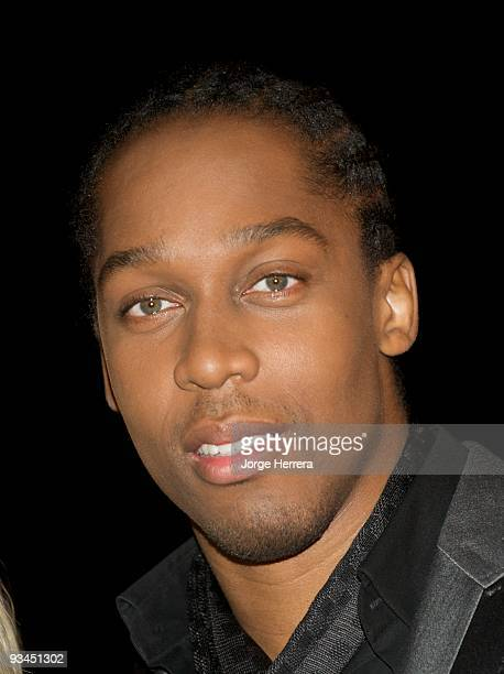 Lemar attends the Spirit of London awards at Alexandra Palace on November 27 2009 in London England
