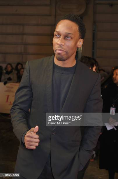 Lemar attends the UK Premiere of 'I Tonya' held at The Washington Mayfair on February 15 2018 in London England