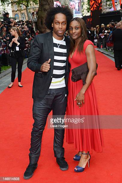 Lemar attends the UK premiere of The Amazing SpiderMan at The Odeon Leicester Square on June 18 2012 in London England