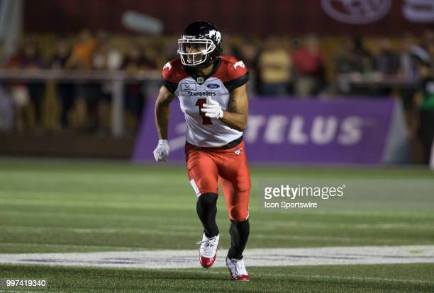 Lemar Durant of the Calgary Stampeders in a regular season Canadian Football League game played at TD Place Stadium in Ottawa The Calgary Stampeders...