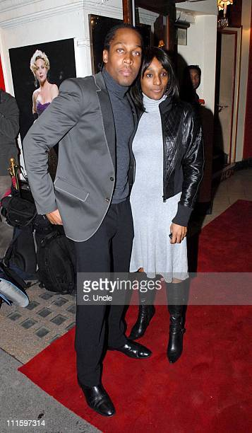Lemar during Guys And Dolls VIP performance Red Carpet Arrivals at Piccadilly Theatre in London Great Britain