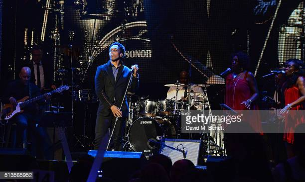 Lemar performs at 'A Night Of Motown' for Save The Children UK at The Roundhouse on March 3 2016 in London England