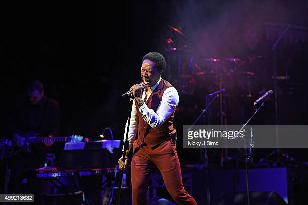 Lemar performs at Magic Radios festive concert The Magic of Christmas at London Palladium on November 29 2015 in London England