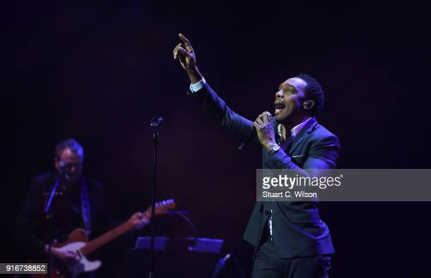 Lemar performs during Magic Soul at London Palladium on February 10 2018 in London England