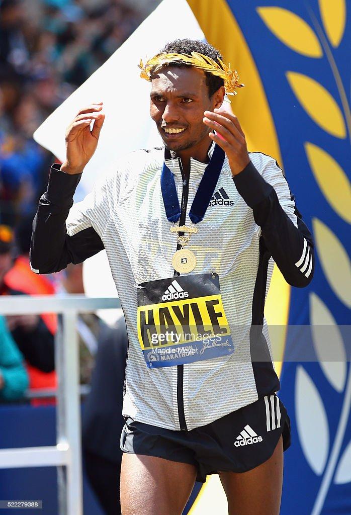 120th Boston Marathon : News Photo