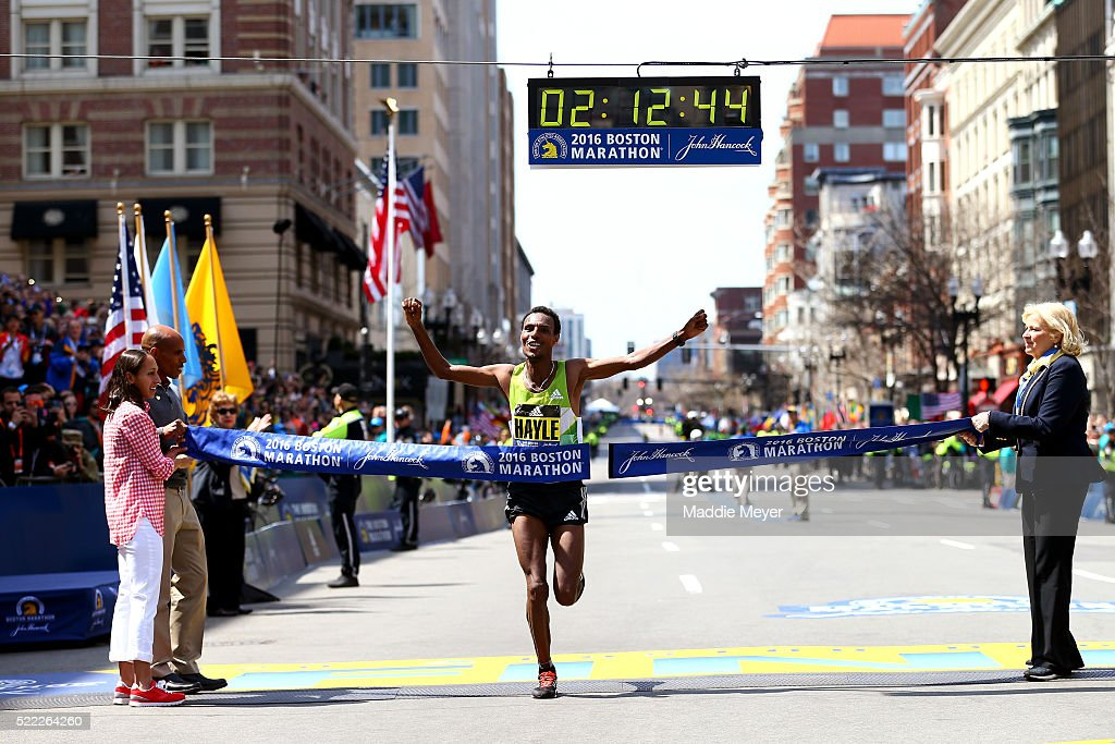 120th Boston Marathon : News Photo