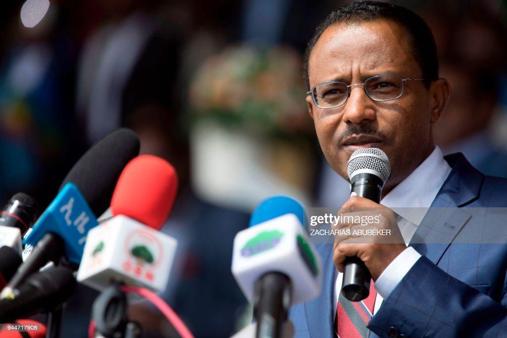 Lemma Megersa, President of Oromo Peoples' Democratic