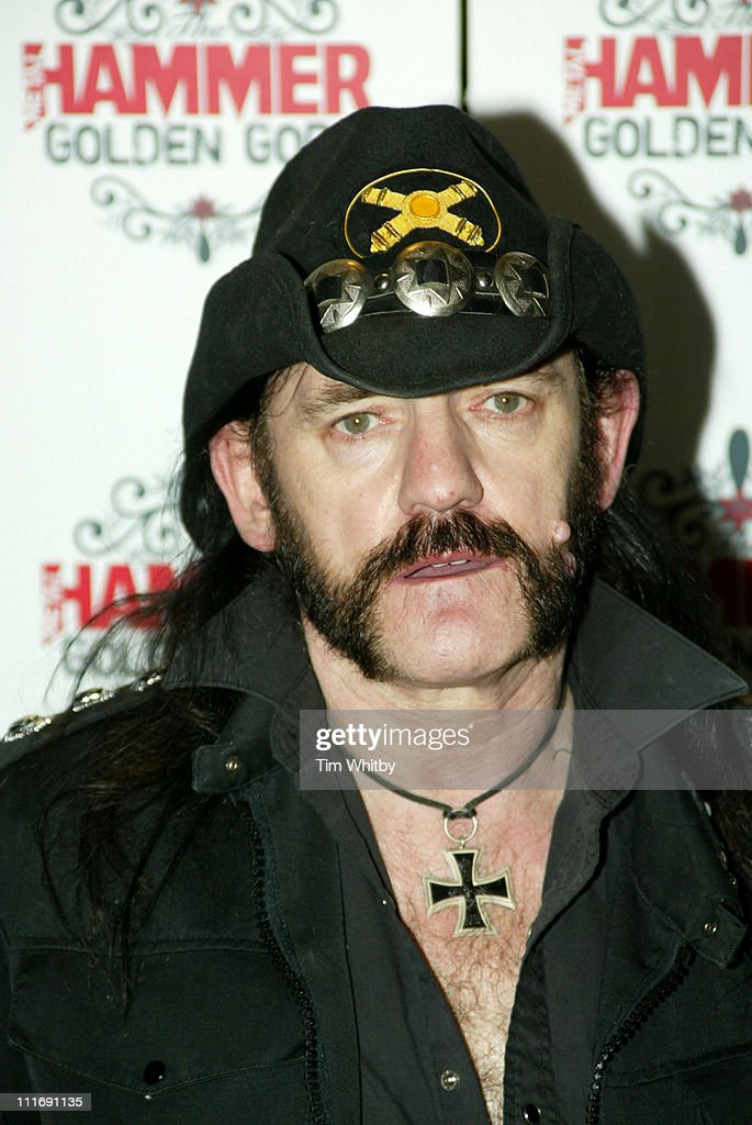 Lemmy during The Metal Hammer Golden Gods Awards 2005 - Arrivals & Press Room at The Astoria in London, Great Britain.
