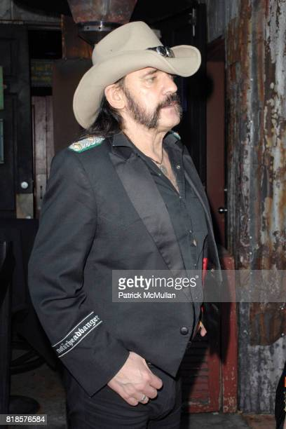 Lemmy Kilmister attends THE 3RD ANNUAL SUNSET STRIP MUSIC FESTIVAL LAUNCHES WITH A TRIBUTE TO SLASH at House Of Blues on August 26 2010 in West...