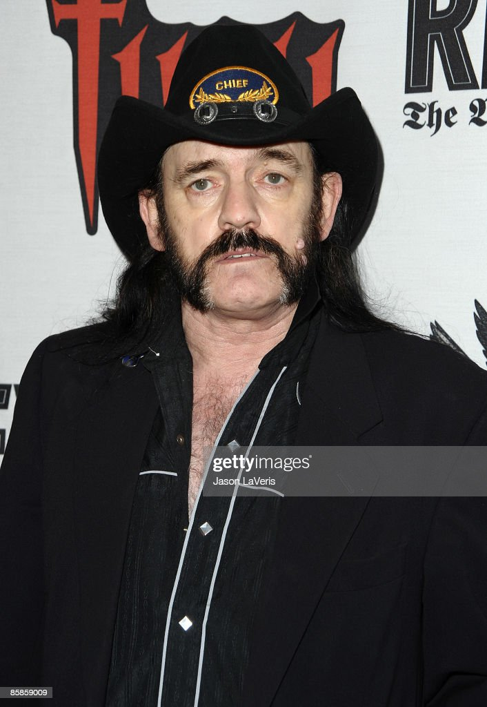 Lemmy Kilmister of Motorhead attends the 1st annual Epiphone Golden Gods Awards at Club Nokia on April 7, 2009 in Los Angeles, California.