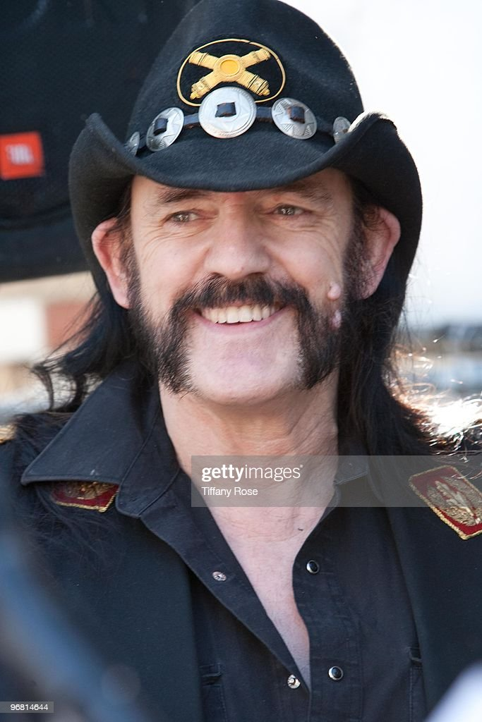 Lemmy Kilmister of Motorhead attends the 2nd Annual Golden Gods Awards Nominees and Press Conference at The Rainbow Bar and Grill on February 17, 2010 in Los Angeles, California.