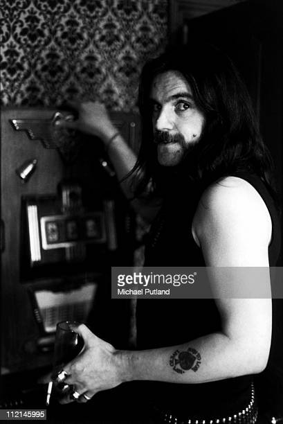 Lemmy Kilmister of Motorhead portrait 1982