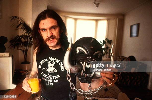 Lemmy Kilmister of Motorhead portrait 1982