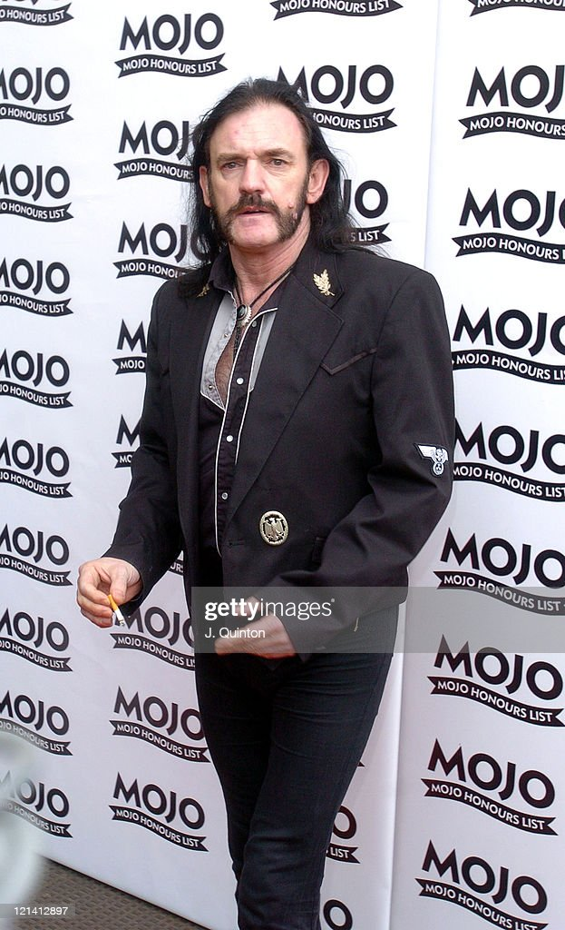 Lemmy of Motorhead during Mojo Honours List Awards 2004 - Arrivals at Banqueting Hall in London, Great Britain.