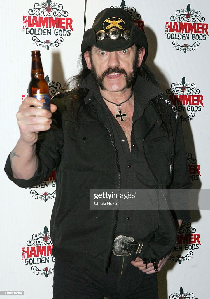 Lemmy of Motorhead during The Metal Hammer Golden Gods Awards 2005 - Arrivals & Press Room at The Astoria in London, Great Britain.