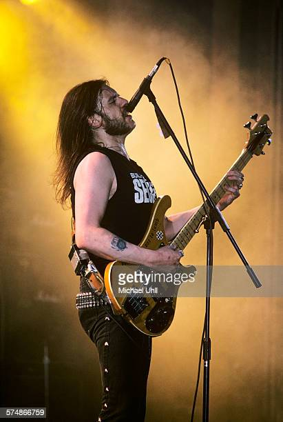 Lemmy performing with Motorhead at The Ritz in New York City on March 6 1988