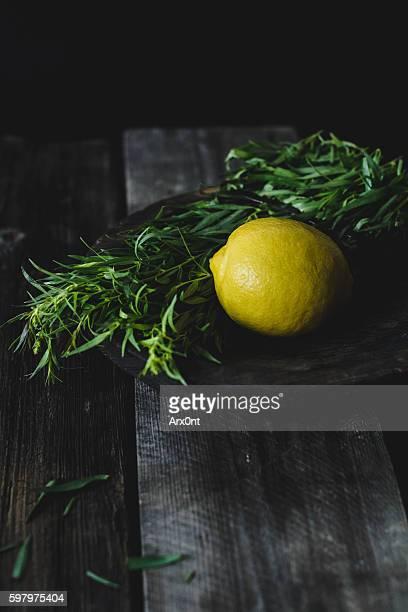 Lemon and tarragon