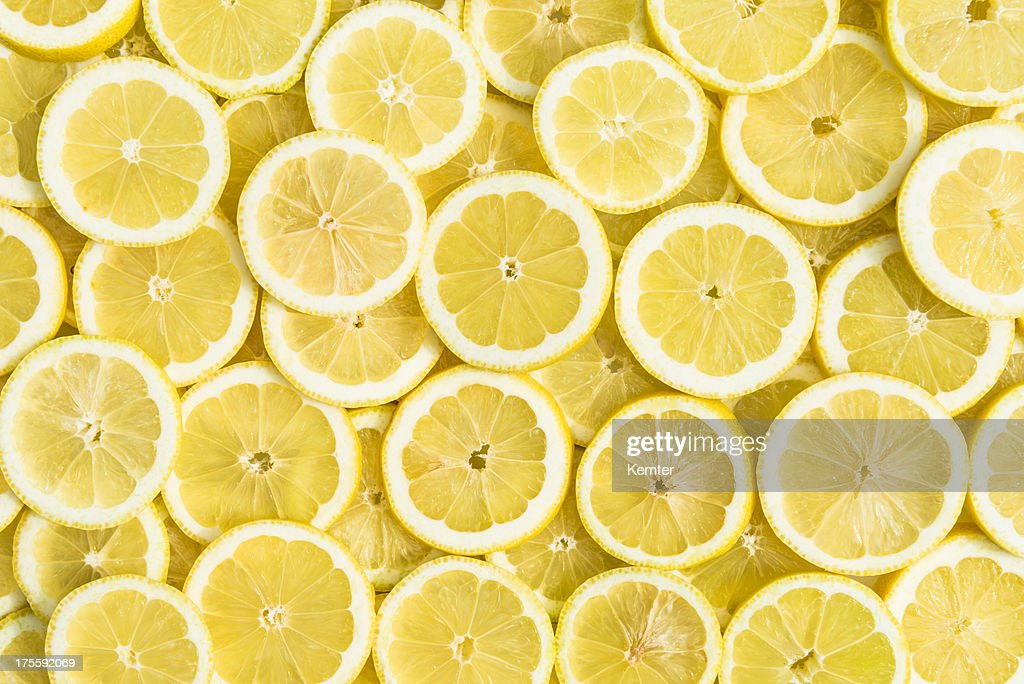 lemon background : Stock Photo