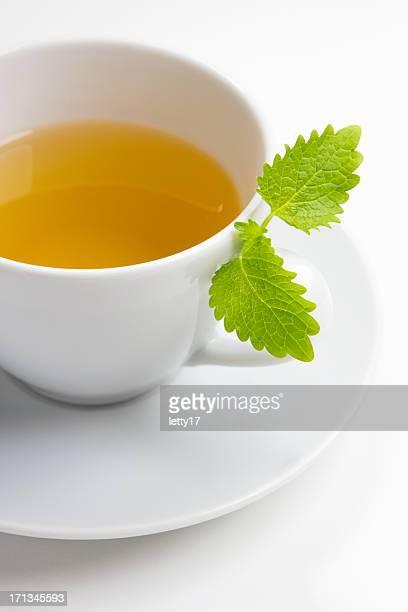 erva-cidreira chá - erva cidreira imagens e fotografias de stock
