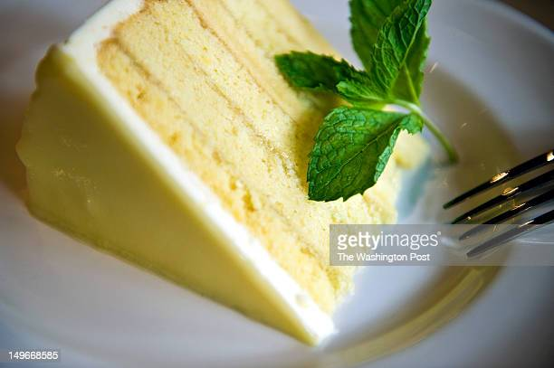 Lemon Cake is served at Del Frisco's Grille Monday July 23 2012 in Washington DC