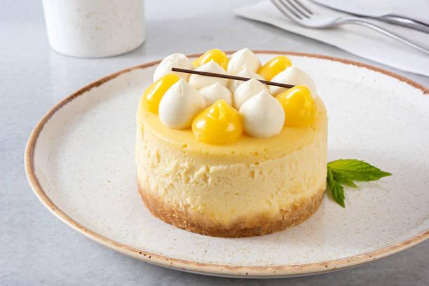 lemon cheesecake - 餐後甜品 個照片及圖片檔