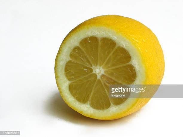 Lemon cross section