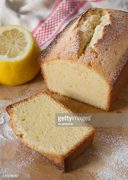 Lemon flavoured pound cake.