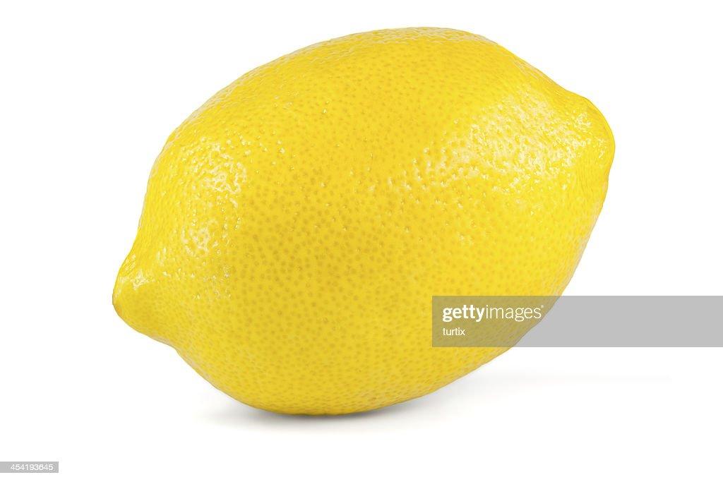 lemon isolated on white : Stock Photo