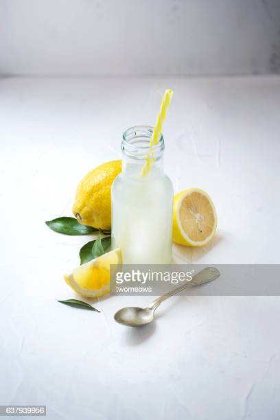 Lemon juice.