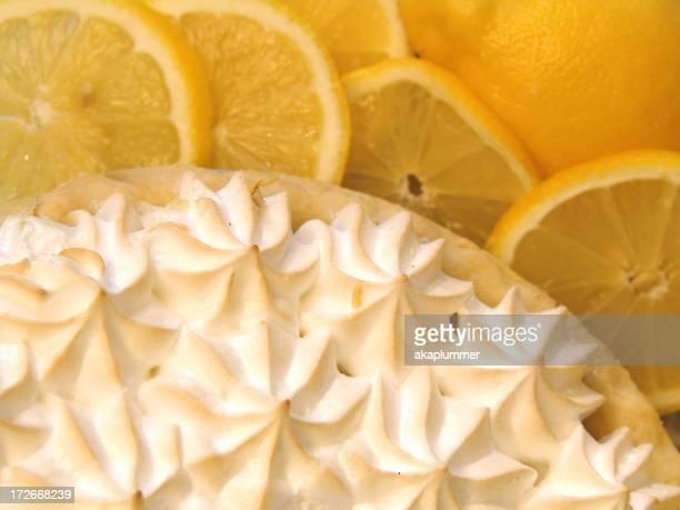 Tarte au citron meringuée et tranches