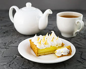 http://www.istockphoto.com/photo/lemon-meringue-pie-cup-of-tea-white-teapot-gray-cement-table-horizontal-selective-gm890982664-246792144