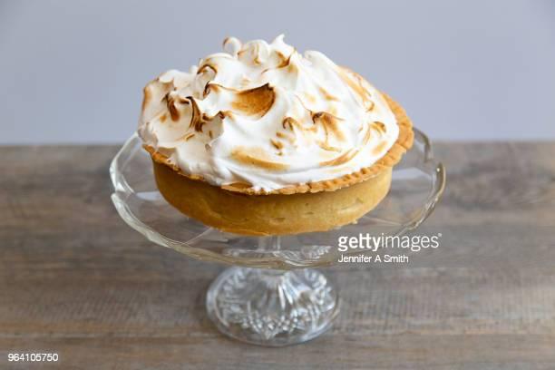 lemon meringue pie - meringue stock pictures, royalty-free photos & images