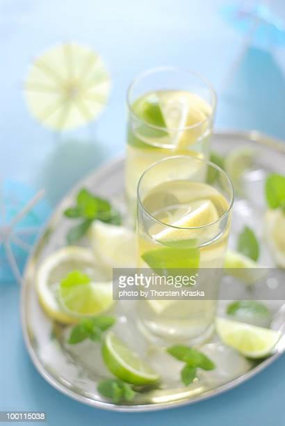 Lemon Mint Ice Tea