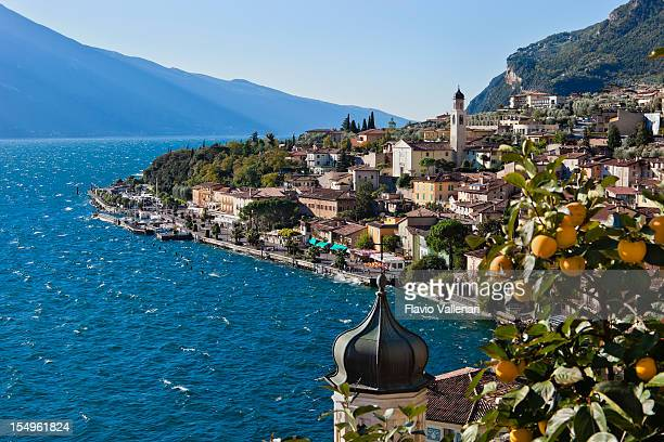 limone sul garda, italy - lombardy stock pictures, royalty-free photos & images