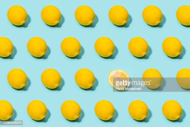 lemon pattern - lemon stock pictures, royalty-free photos & images