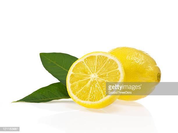 lemon - lemon leaf stock photos and pictures