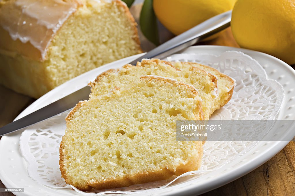 Lemon Pound Cake : Stock Photo