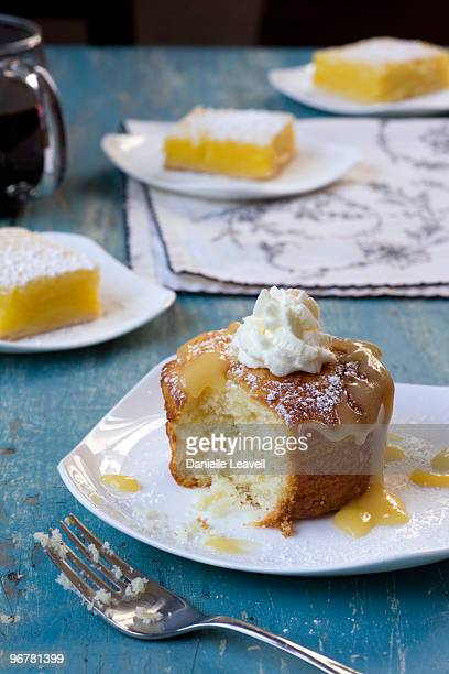 lemon pound cake with lemon bars