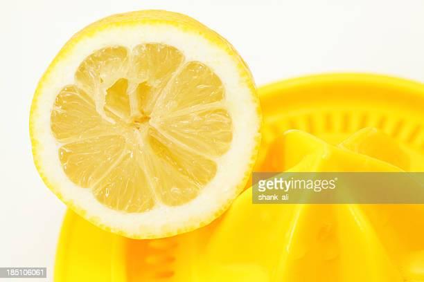 Zitrone auf einem squeezer