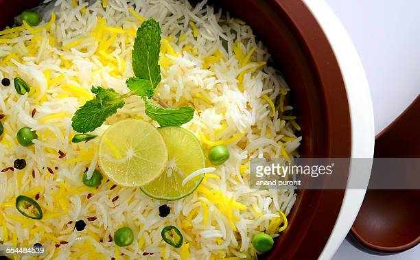Lemon rice, Indian food Item